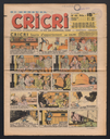 Cricri journal, N°43 du 28 novembre 1949