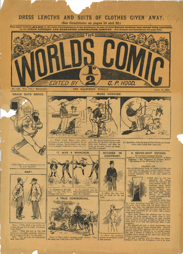 The World's Comic, N°159, Vol VII, du 17 juillet 1895