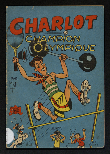 Charlot  champion olympique
